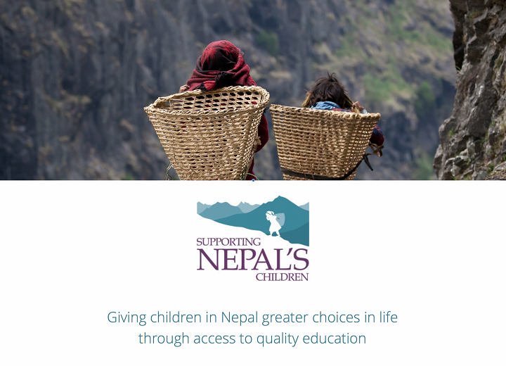 Supporting Nepal's Children